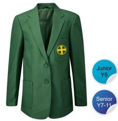 Senior Blazer - Embroidered with Durham High School Logo