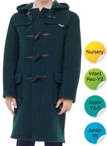 Children's Original Duffle Coat - for Durham High School