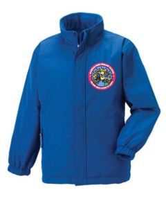 Royal Blue Jacket (Optional) - Embroidered with Hadrian Park Primary School logo