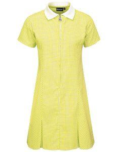 Yellow Gingham Dress for Whittingham C of E Primary School