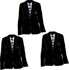 Black Girls Blazer - Embroidered with Walker Riverside Academy logo