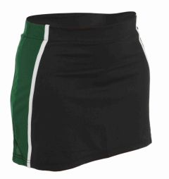 PE Girls Skort - Black/Emerald/White - for Bailey Green Primary School