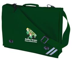 Bottle Document Case - Embroidered with Bailey Green Primary School Logo