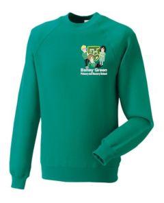 Jade Sweatshirt - Nursery (Crew Neck) - Embroidered With Bailey Green Nursery School Logo