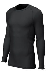 Black Baselayer Skins Top - for Christ's College, Sunderland (Optional for students in Years 7-11 only)