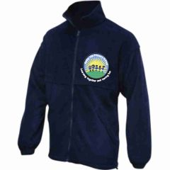 Navy Fleece - Embroidered With Battle Hill Primary School Logo