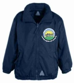 Navy Mistral Shower Proof Jacket - Embroidered With Battle Hill Primary School Logo