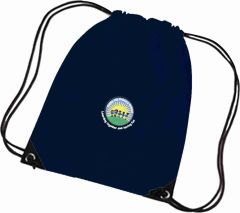 Navy PE Bag - Embroidered With Battle Hill Primary School Logo