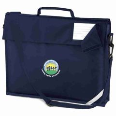 Navy Shoulder Bag - Embroidered with Battle Hill Primary School Logo