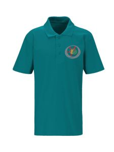 Green Polo (Years 1 + 2)- Embroidered with Benton Dene logo