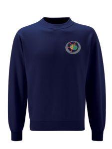 Navy Sweatshirt - Embroidered with Benton Dene logo