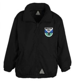 Black Mistral Shower Proof Jacket - Embroidered With Beacon Hill School Logo