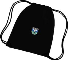 Black PE Bag - Embroidered With Beacon Hill School Logo