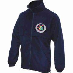 Navy Fleece - Embroidered with Benton Dene logo