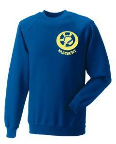 Royal Nursery Sweatshirt - Embroidered with Benton Dene Nursery logo