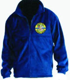 Royal Polar Fleece - Embroidered with Benton Park Primary School logo