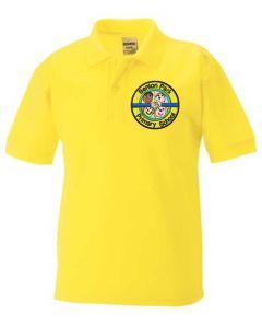 Yellow Polo - Embroidered with Benton Park Primary School logo