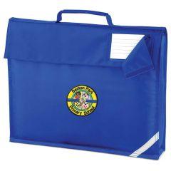 Royal Bookbag - Embroidered with Benton Park Primary School logo