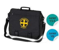 Briefcase Bag - Printed with Durham High School Logo
