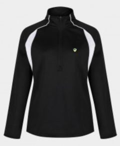 Black/White Girls Fit Mid-Layer (MLG) - Embroidered with Bedlington Academy School Logo