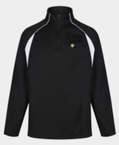 Black/White Mid-Layer (MLS) - Embroidered with Bedlington Academy School Logo