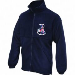 Navy Fleece - Embroidered With BKKS Logo