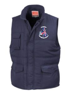 RESULT JACKETS Promo Bodywarmer - Embroidered With BKKS Logo