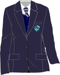 Girls Blazer - Embroidered with Hermitage Academy Logo