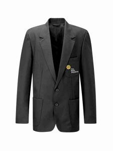 Boys Grey Blazer - Embroidered with The Blyth Academy Logo