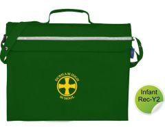 Infant Book Bag - Printed with Durham High School Logo