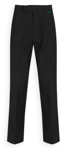 Junior Boys Black Slim Leg Trousers (SFJ) - Embroidered with Walker Riverside Academy Logo