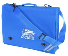 Royal Document Case - Embroidered with Browney Academy School Logo