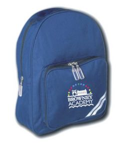 Royal Infant Back Pack - Embroidered with Browney Academy School Logo