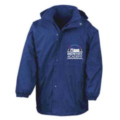 Royal Stormproof Coat - Embroidered with Browney Academy School Logo