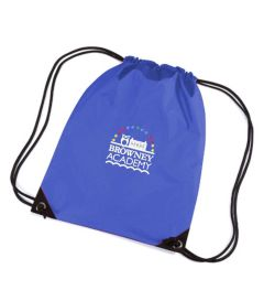 Royal PE Bag - Embroidered with Browney Academy School Logo