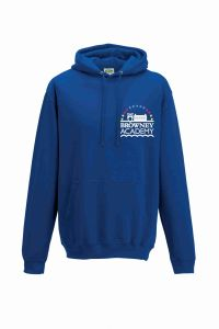 PE Hoodie - Embroidered With Browney Academy School Logo