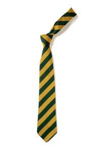 Bottle/Gold Clip-on School Tie (KS3) 16