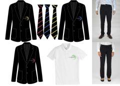 Package Deal C - Blazer, Tie, Trousers & PE Polo - Walker Riverside Academy