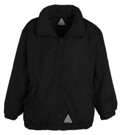 Black Reversible Coat - No logo