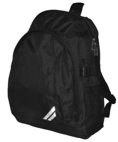 Black Plain Backpack - for Christ's College, Sunderland (Essential for students in Years 7-11 only)