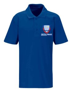 Royal Classic PE Polo - Embroidered with Central First School logo