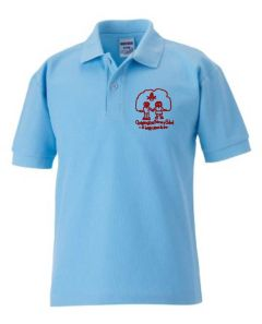 Sky Polo - Embroidered with Choppington Primary School logo