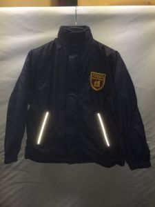 Navy Reversible Coat - Embroidered With Kings Priory School Logo