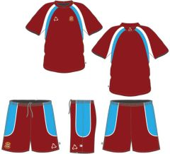 PE KIT- Option 1 (T-shirt, & Shorts ) - Embroidered with Corbridge Middle School