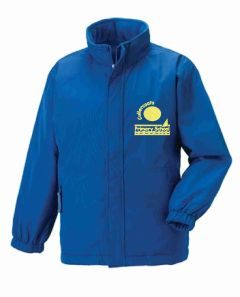 Royal Reversible School Jacket - Embroidered with Cullercoats Primary School Logo