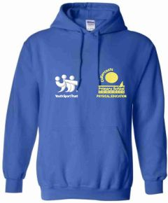 Royal PE Hoody - Embroidered With Cullercoats Primary School Logo
