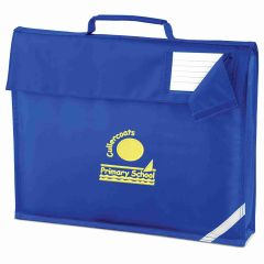 Royal Book Bag - Embroidered with Cullercoats Primary School Logo