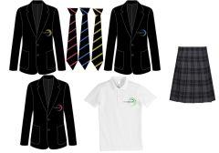 Package Deal D - Girls Blazer, Tie, Kilt & PE Polo - Walker Riverside Academy