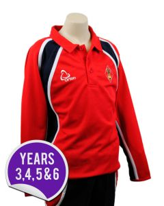 Hockey Shirt - Embroidered with Dame Allan's Junior School Logo
