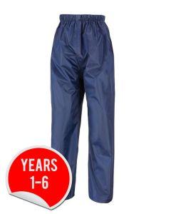 Waterproof (Stormdri) Trousers - for Dame Allan's Junior School